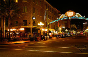 Limousine Tour to Gaslamp Quarter San Diego